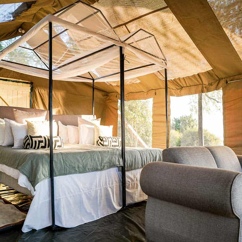 Little Vundu Camp Bushlife Safaris Bedroom