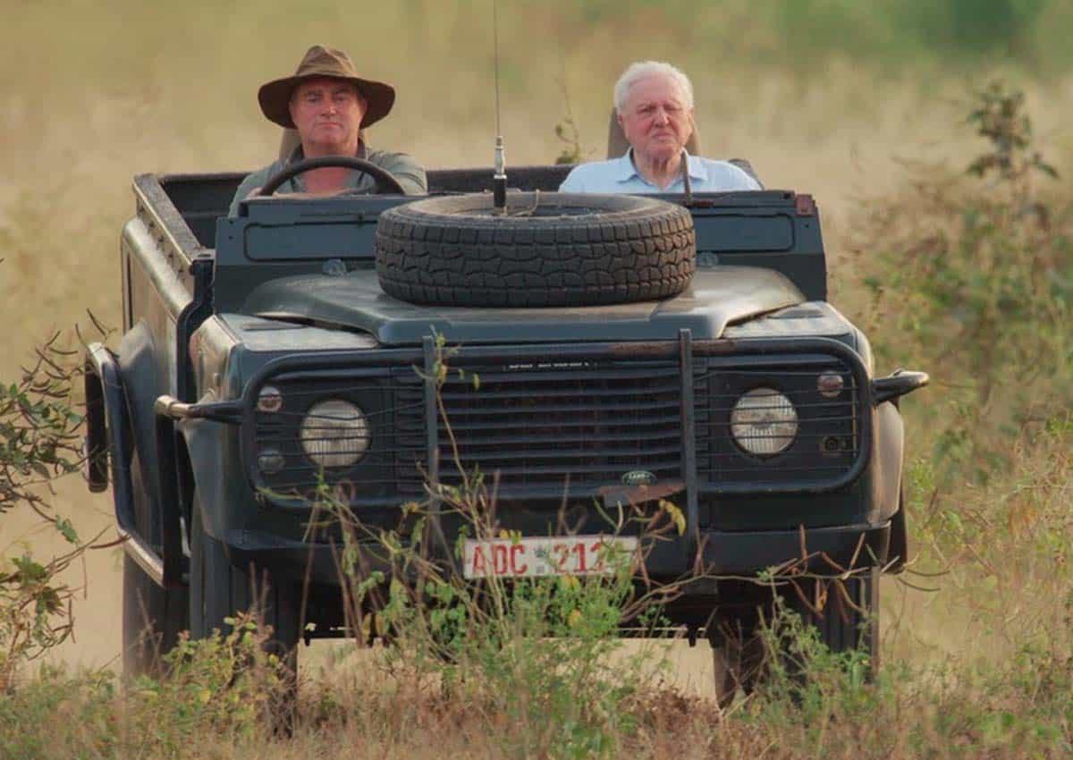 Nick Murray Tusker Sir David Lead Guide Bushlife Safaris