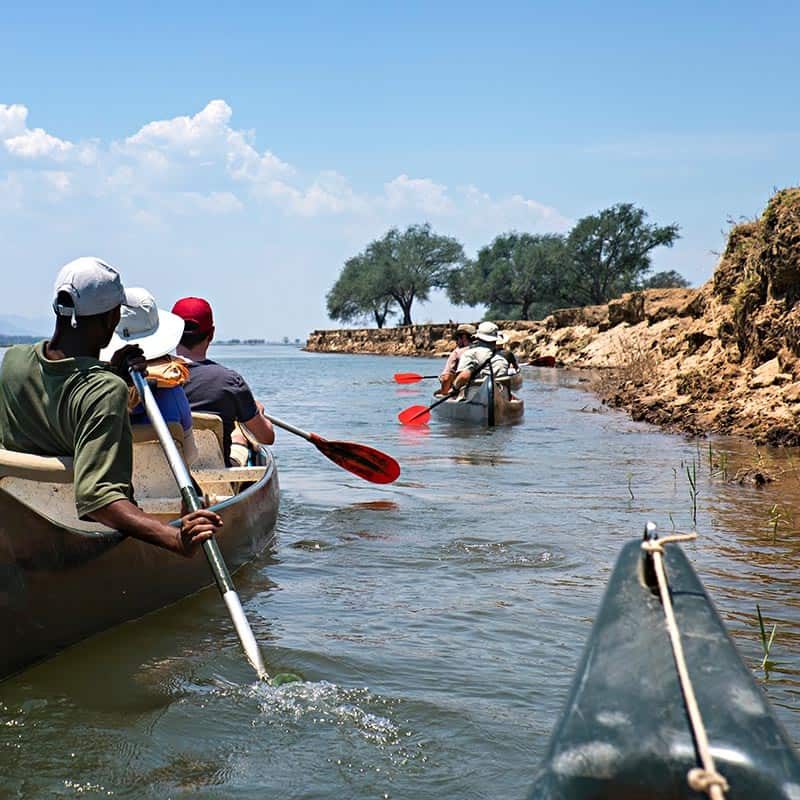Ruwesi Canoe Trail Bushlife Safaris Mana Pools