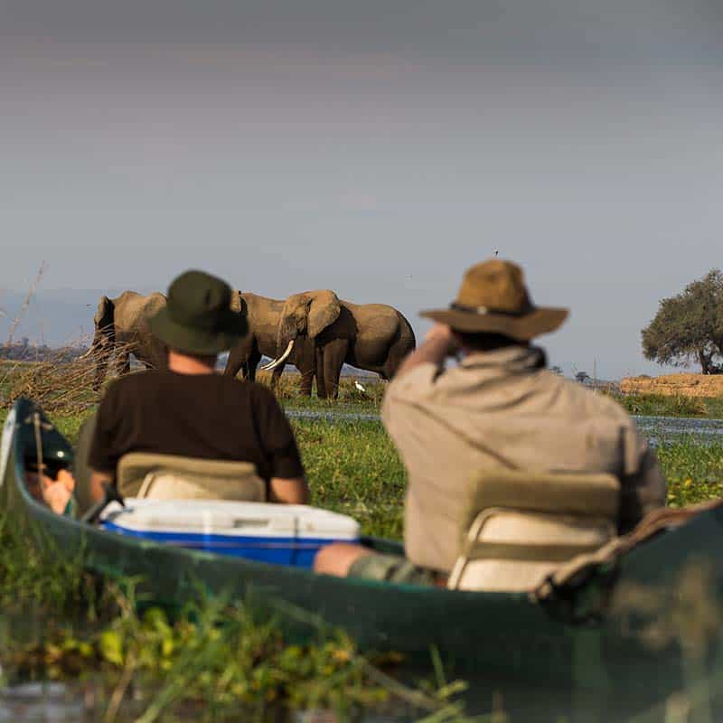 Vundu Camp Bushlife Safaris Canoeing