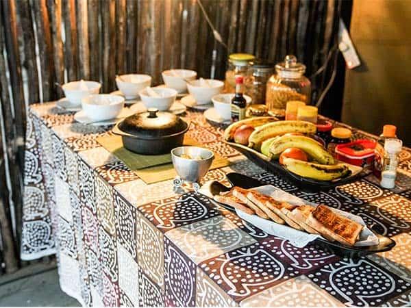 Breakfast Vundu Camp Bushlife Safaris