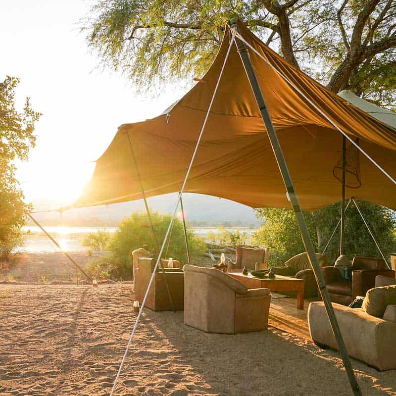 Little Vundu Camp Bushlife Safaris Seating Area