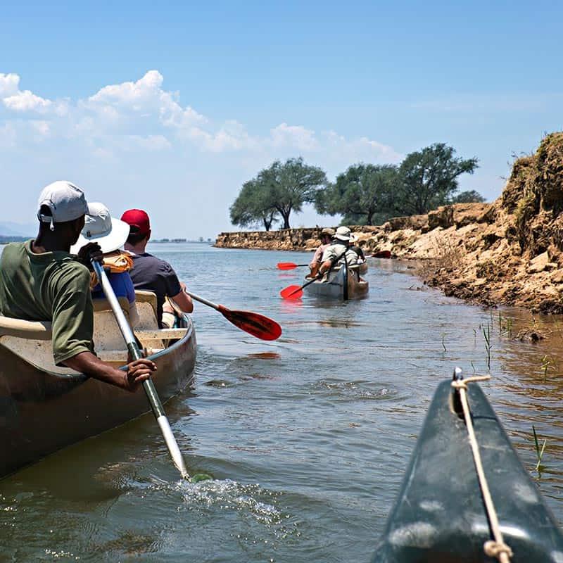Ruwesi Canoe Trail Bushlife Safaris Mana Pools