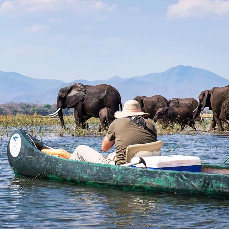 Ruwesi Canoe Trail Bushlife Safaris Zambezi River