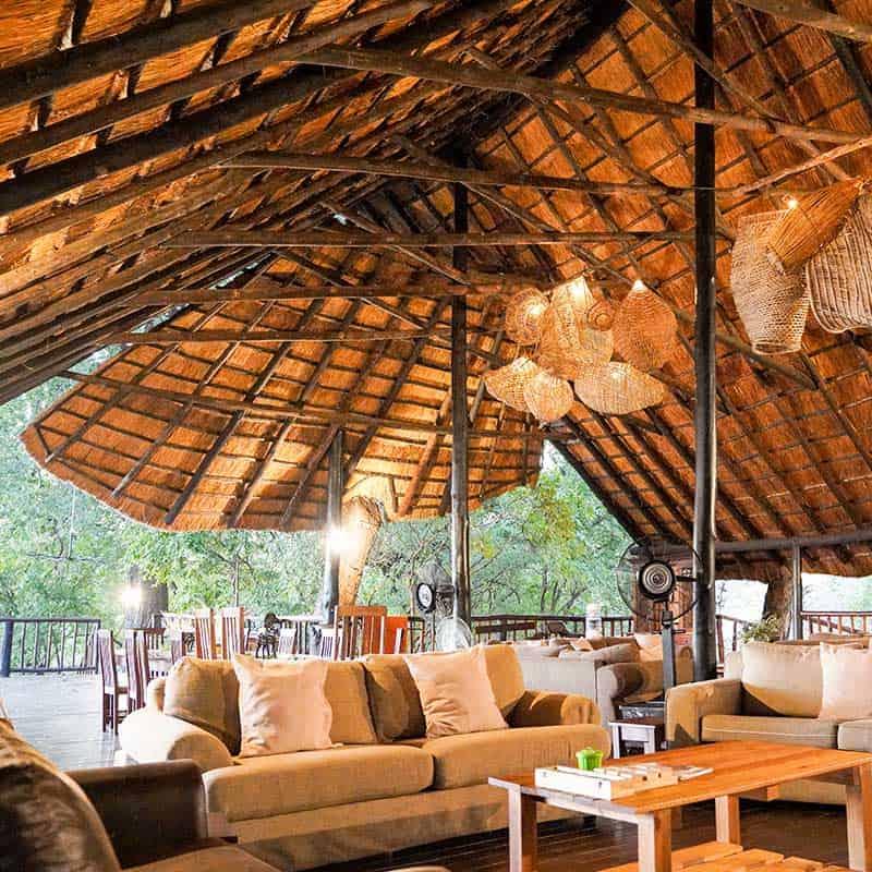 Vundu Camp Bushlife Safaris Seating A Frame