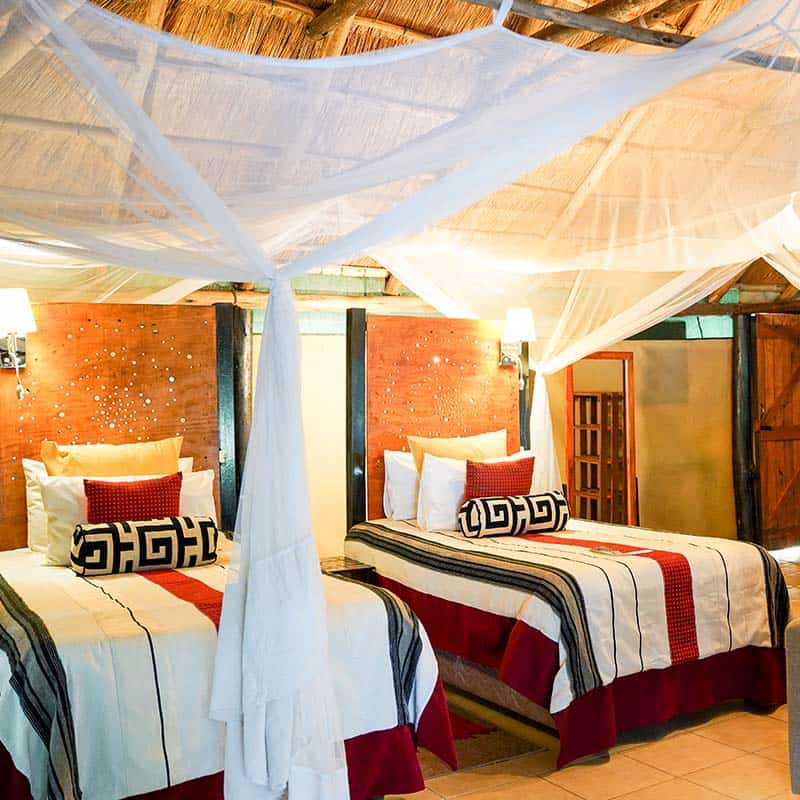 Vundu Camp Bushlife Safaris Twin Bedroom