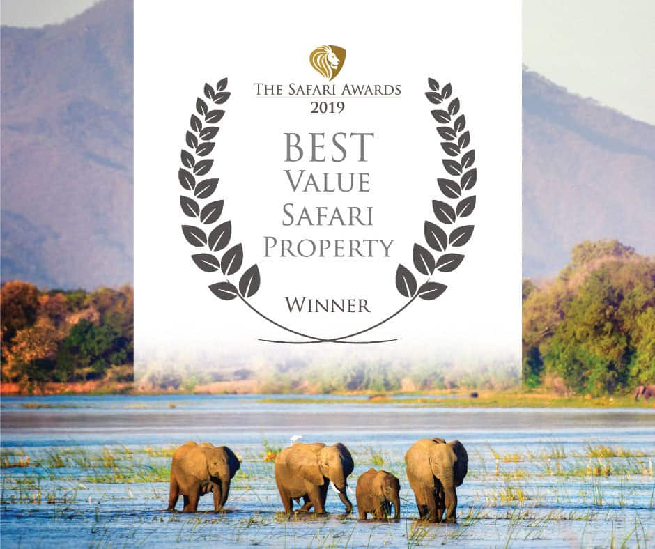 Bushlife Safaris 2019 Best Value Safari Property Winner