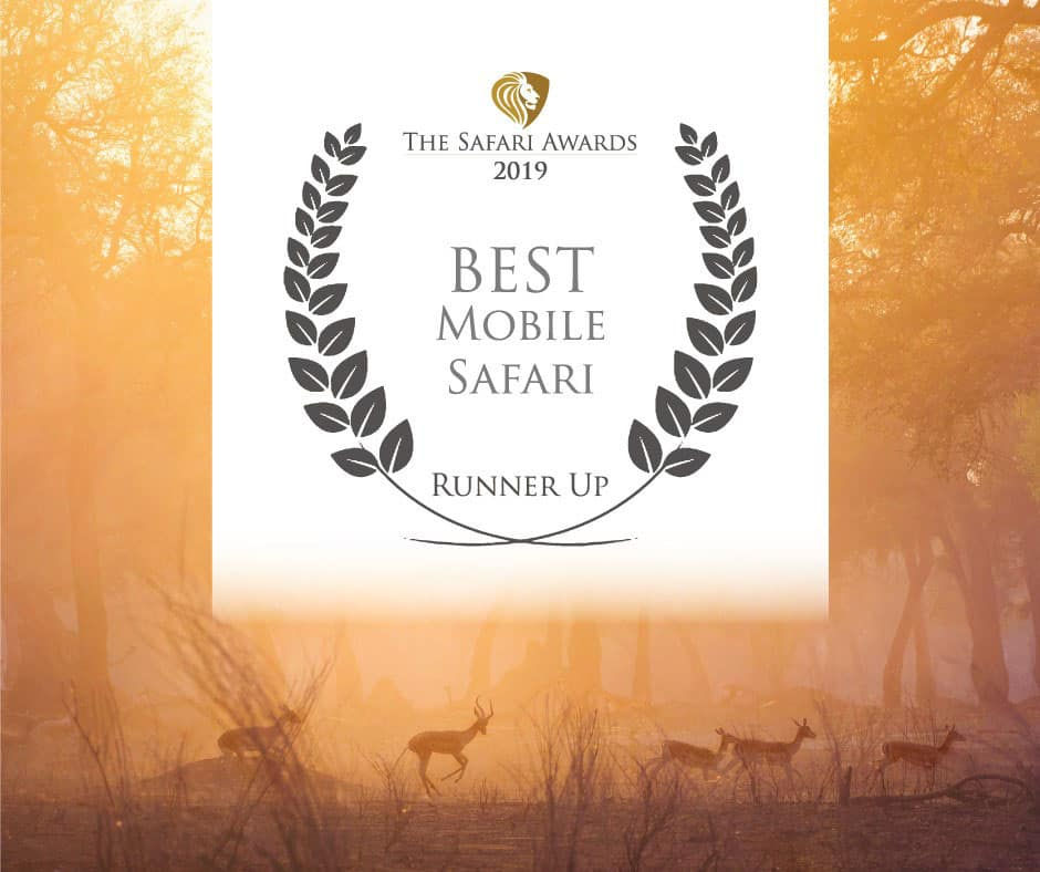 Bushlife Safaris 2019 Best Mobile Safari Runner Up