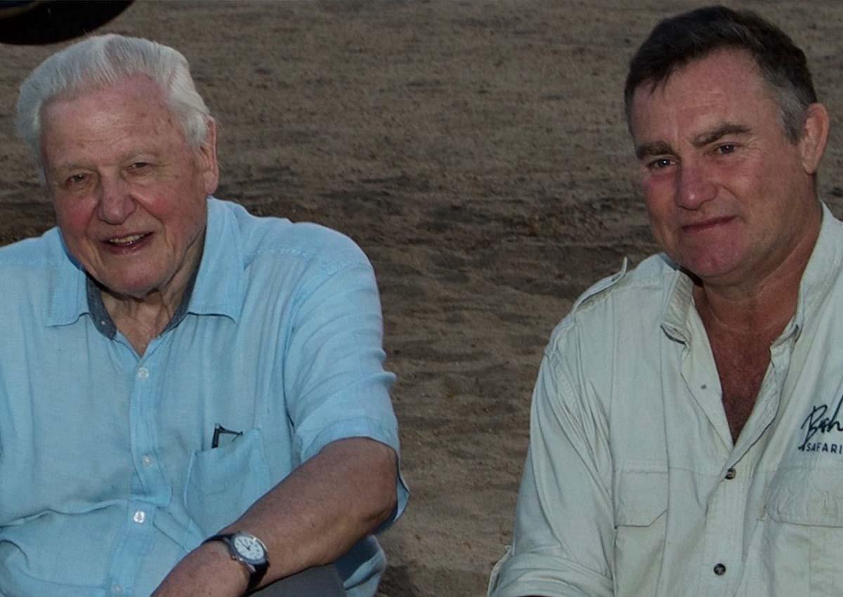 Sir David Attenborough Nick Murray